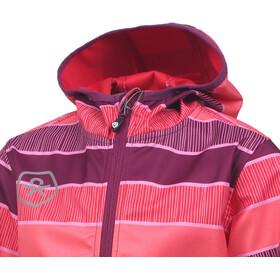 Color Kids Tadimir AOP Softshell Jacket Girls Magenta Purple